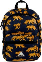 Little Legends Schooltas Tiger Backpack Blauw
