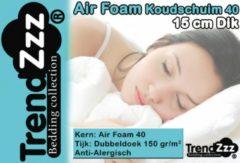 Witte Trendzzz ® Trendzzz® Matras 70x150 cm Koudschuim Air 40