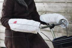 WOBS handwarmers voor op de fiets Bike Pogies - Uitvoering - Limited Edition Knitted