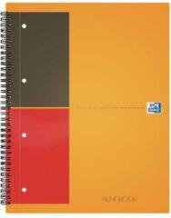 Schrift spiraal Oxford Filingbook A4+ 23,3 x 29,8 cm - geperforeerd 4 gaten - kleine ruit 200 pagina's