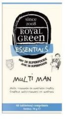 Multi Man - 60 Tabs - Royal Green