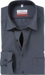 Grijze Marvelis Normaal (licht getailleerd) Onbekend Heren Overhemd Maat XXL