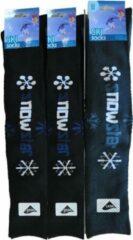 Blauwe Inter socks SKISOKKEN Heren - 39/42 - 6 PAAR - SNOWSTAR - LANGE & WARME sokken met badstof chaussettes socks