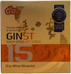 ILHWA CO.,LTD ILHWA GINST15 Korean Ginseng Soft Capsules - 60 stuks