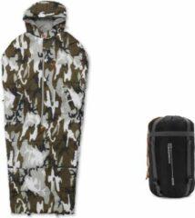 Where Tomorrow body slaapzak 210 x 80 x 60 cm diverse kleuren | draagbare slaapzak - camouflage grijs