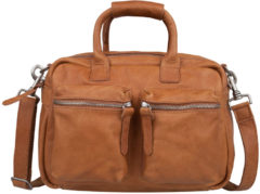 Bruine Cowboysbag Schoudertas The Little Bag 1346 Tobacco