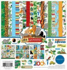 Carta Bella Zoo Adventure 12x12 Inch Collection Kit (CBZA128016)