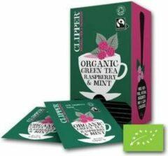 Clipper Tea - groen Tea Raspberry & Mint BIO - 6 x 25 zakjes