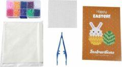 Paarse Strijkkralen set   10 kleuren   Kinderen   Fuse Beads   MAIA Creative