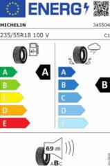 Universeel Michelin Primacy 4 vol 235/55 R18 100V