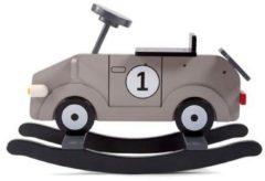 Grijze CHILDWOOD Hobbelauto My First Car grijs en zwart CWRFCG