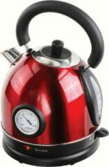 Livoo - Retro waterkoker - rvs - 1.8 liter - rood