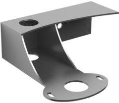Zilveren Clou First console met kraangat rvs geborsteld tbv fonteinkom B21xH7xD20.9cm CL/07.39111