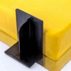 Zwarte Dekofee - Taartdecoratiegereedschap - Fondant Smoother - Zijkanten