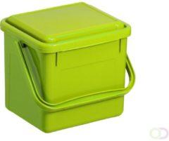 ROTHO organische compostbak 4,5 liter limoengroen | Composter voor meer duurzaamheid in het huishouden