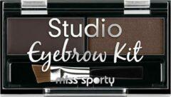 Studio Wenkbrauw Kit Wenkbrauw Make-up Pallet 001 Medium Bruin 1.1g