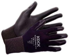 Zwarte Kixx Handschoenen Kixx Tuinhandschoenen - Bouncing Black - Maat 11