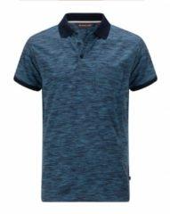 Blauwe Life-Line Ollerton Polo - Heren Outdoor Poloshirt - Sneldrogend Wandelshirt
