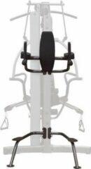 Zwarte Body-solid Vertical Knee-raise / Dip Station Fkr