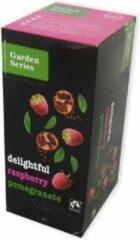 Garden Series Groene Thee - Witte Thee - Framboos en Granaatappel - Delightful Raspberry & Pomegranate
