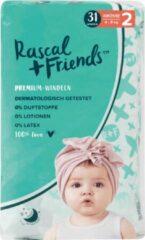 Rascal+Friends Baby Luiers maat 2, 4-8 kg (31 stuks)