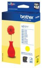 Brother LC-121Y inktcartridge Origineel Geel 1 stuk(s)