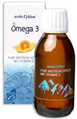 Witte Arctic Blue Omega 3 Pure Arctische Visolie met Vitamine D 150 ml