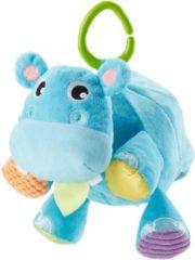 Blauwe Mattel Fisher-Price Nijlpaardbal - Grijpspeelgoed