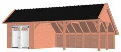 Van Kooten Tuin en Buitenleven Kapschuur De Hoeve XL 926x440 cm - Combinatie 1