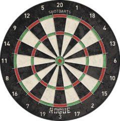 Shot Professioneel dartbord Rogue Bristle 45 cm - Sportief spelen - Darten/darts - Dartborden voor kinderen en volwassenen.