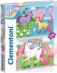 Clementoni Legpuzzel Unicorns 20 Stukjes 2 Stuks