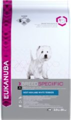 Eukanuba West Highland White Terriër - Breed Specific - Hondenvoer - 2.5 kg