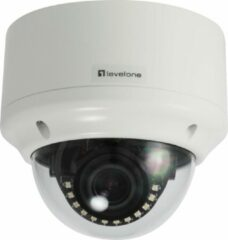 Witte Level One LevelOne FCS-3304 IP-beveiligingscamera Binnen & buiten Dome Plafond/muur 2048 x 1536 Pixels