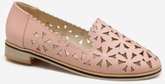 Rosegal Plus Size Slip On Laser Cut Out Scallop Loafers