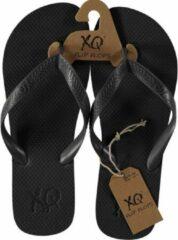 Antraciet-grijze Xq Footwear Teenslipper Heren Polyester Antraciet Maat 41