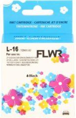 FLWR - Inktcartridge / 16 / Zwart - Geschikt voor Lexmark