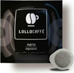 "Lollo Caffè ""Nero"" - ESE Koffiepads - 150 stuks - Napolitaanse gebrande koffie - Sterk en romig - Typische Zuid-Italiaanse koffie"