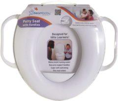 Dream baby Dreambaby Potty Seat wc verkleiner met handgrepen wit