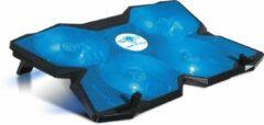 Spirit of Gamer Air Blade 500 17'' 1200RPM Zwart, Blauw notebook cooling pad