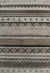 Impression Rugs Design Collection Loft Vintage Beige / Grijs vloerkleed Laagpolig - 120x170 CM