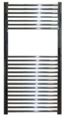 Douche Concurrent Designradiator Aloni 170x60cm 750 Watt Glans Chroom Zijaansluiting