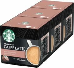 Starbucks by Dolce Gusto capsules Caffè Latte - 36 koffiecups - geschikt voor 36 koppen koffie