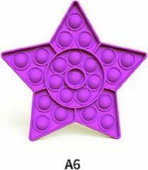Pop it - Fidget Toys - Paarse Ster