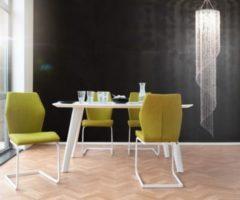 DeLife Leuchte Big Strass Transparent 30x210 cm Acrylglas Deckenlampe