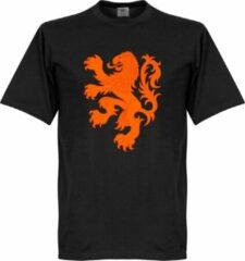 Zwarte Merkloos / Sans marque Nederlands Elftal Lion T-Shirt - M