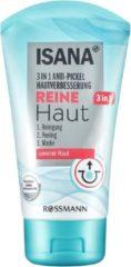 ISANA Gezichtsmasker Anti-puist - reiningingmasker - Gezichtswasgel - wasgel - pure skin 3in1 - Reiniging, peeling en masker (150 ml)