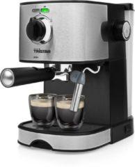 Roestvrijstalen Tristar CM-2275 Espressomachine Geschikt voor 2 koppen - 15 Bar