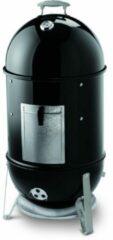 Zwarte Weber Smokey Mountain Cooker houtskoolbarbecue - ø 37 cm - zwart