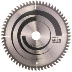 Bosch Accessories Multi Material 2608640514 Hardmetaal-cirkelzaagblad 235 x 30 x 2.4 mm Aantal tanden: 64 1 stuk(s)