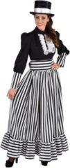 Zwarte Magic by freddy Middeleeuwen & Renaissance Kostuum   Victoriaanse Dame Sheffield Aristocratie   Vrouw   Medium   Carnaval kostuum   Verkleedkleding